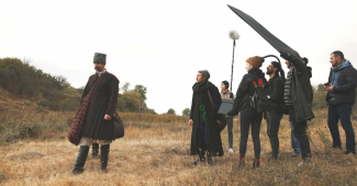 From September 24 to September 28, a team of filmmakers filmed a commercial for a project implemented with the support of the Ukrainian Cultural Fund...